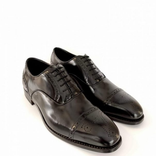 0195 Oxford with cap-toe