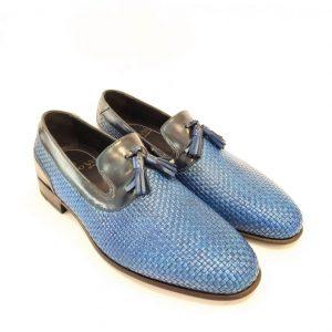0959 Mocassino Colore Blu
