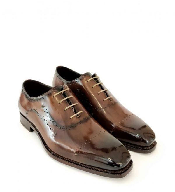 Estasi Oxford Dark Brown Color