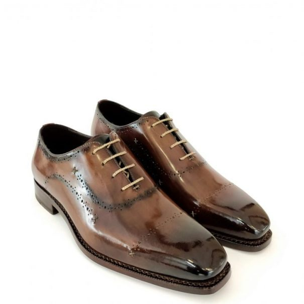 Estasi Oxford Dark Brown Color